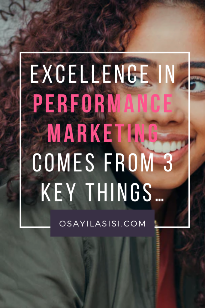 Excellence in Performance Marketing