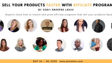 Affiliate Management Online Summit - Speaker header