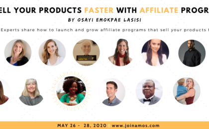 Affiliate Management Online Summit - Speaker header